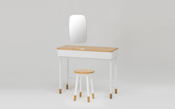 Kuss Console with Mirror & Stool Set (accept pre-order)