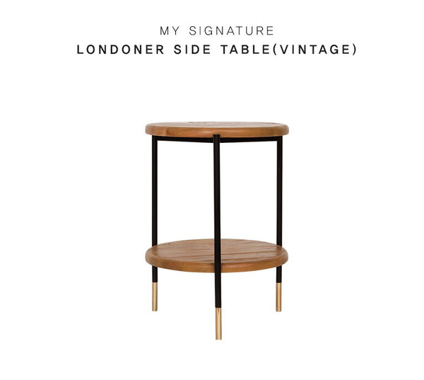 MY SIGNATURE LONDONER Side Table (accept pre-order)