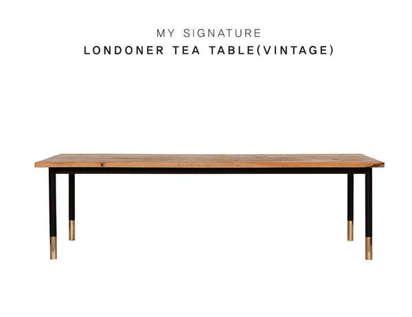 MY SIGNATURE LONDONER Tea Table (accept pre-order)