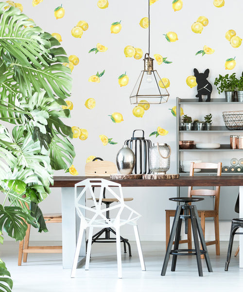 Easy Wall Sticker - Lemon