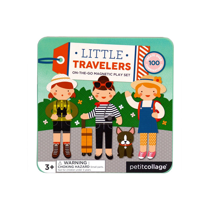 Petit Collage Magnetic Play Set - Little Travelers