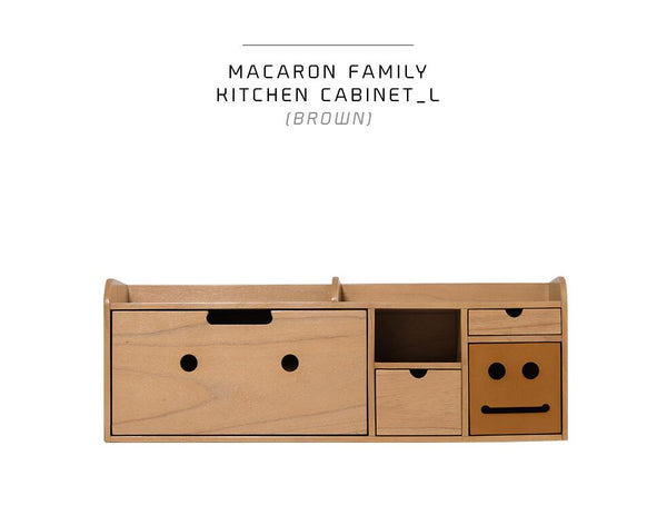 Kitchen Cabinet L Brown