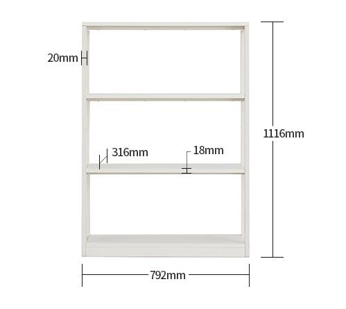 Module+ 3-Level Shelf 800