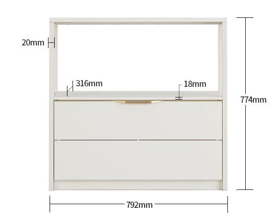 Module+ 2-Level Drawer 01 800