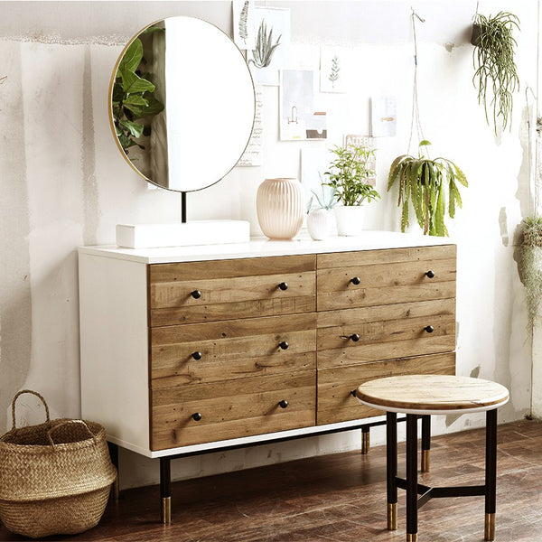 MY SIGNATURE LONDONER 6 Drawers Cabinet with Mirror (accept pre-order)
