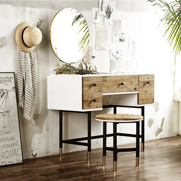 MY SIGNATURE LONDONER Console Set with Mirror & Stool (accept pre-order)