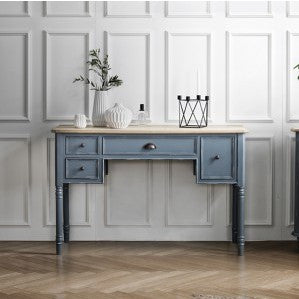 MY SIGNATURE PARISIENNE Console Desk Blue (accept pre-order)