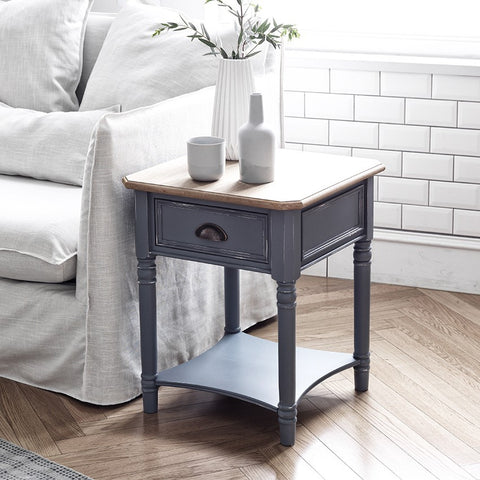 MY SIGNATURE PARISIENNE Side Table Blue (accept pre-order)