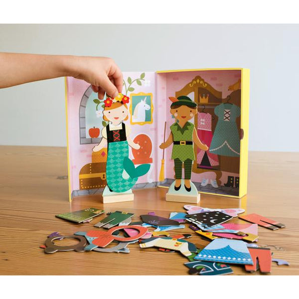 Petit Collage Magnetic Builder - Fairy Tales