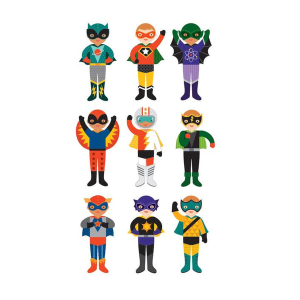 Petit Collage Magnetic Builder - Superheroes