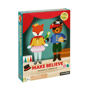 Petit Collage Magnetic Builder - Make Believe