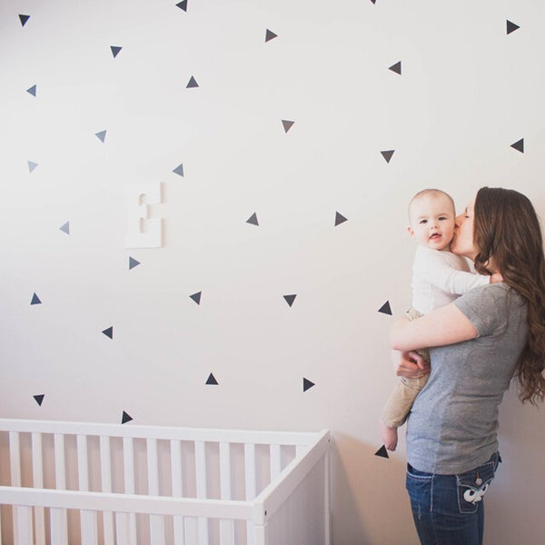 Easy Wall Sticker - Mini Triangles (accept pre-order)