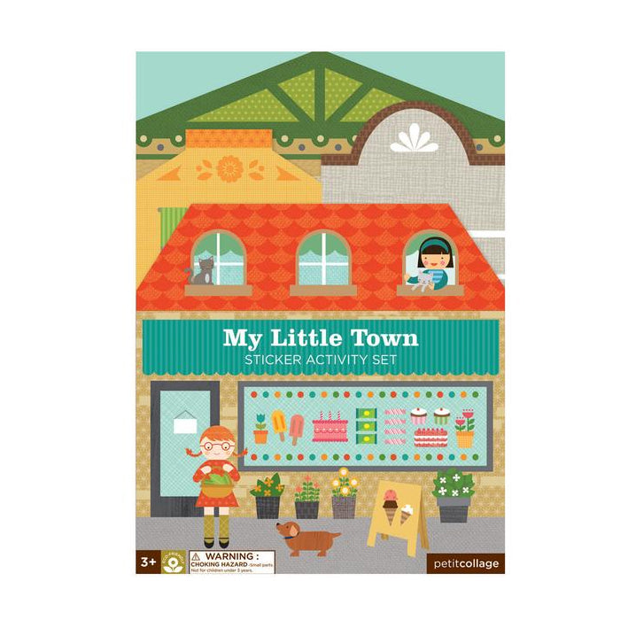 Petit Collage Sticker Activity Set - My Little Town