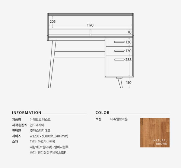 NEW RETRO Desk (accept pre-order)