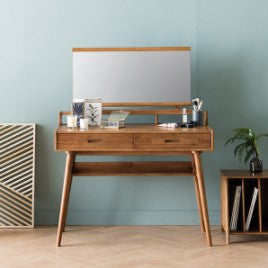 NEW RETRO Desk Console with Mirror Set