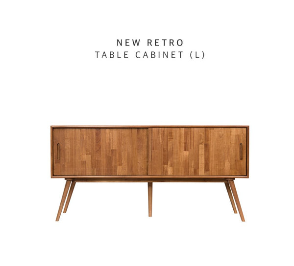 NEW RETRO Table Cabinet L (accept pre-order)