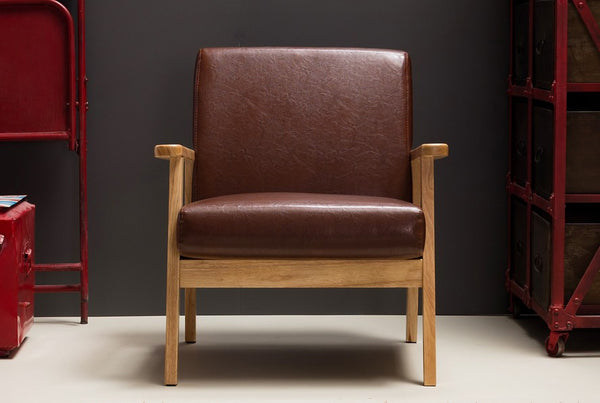 ODENSE Glossy Brown (1 seater) (accept pre-order)