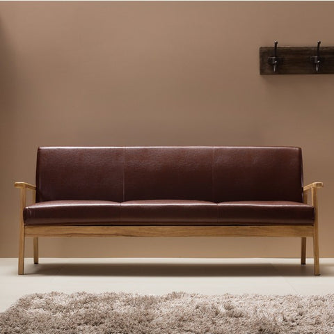 ODENSE Glossy Brown (3 seater) (accept pre-order)