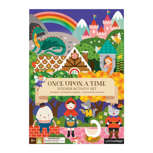 Petit Collage Sticker Activity Set - Once Upon A Time