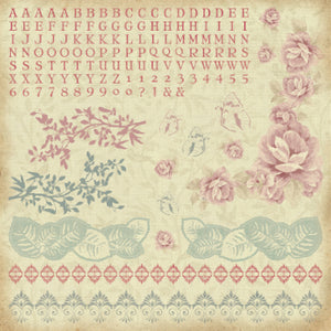 Magnolia Grove Paper Pack with BONUS Sticker Sheet