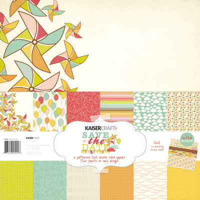 Save the Date Paper Pack with BONUS Sticker Sheet