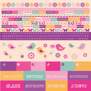 Butterfly Kisses Paper Pack with BONUS Sticker Sheet