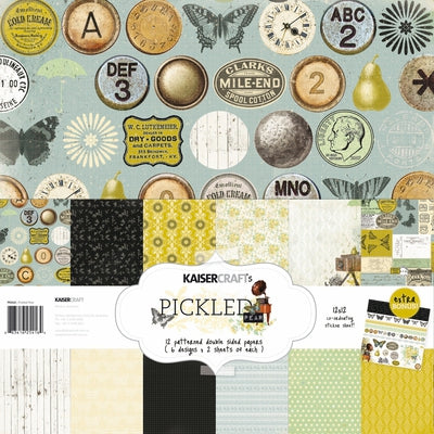 Pickled Pear Paper Pack with BONUS Sticker Sheet
