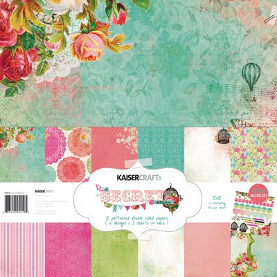 Secret Admirer Paper Pack with BONUS Sticker Sheet
