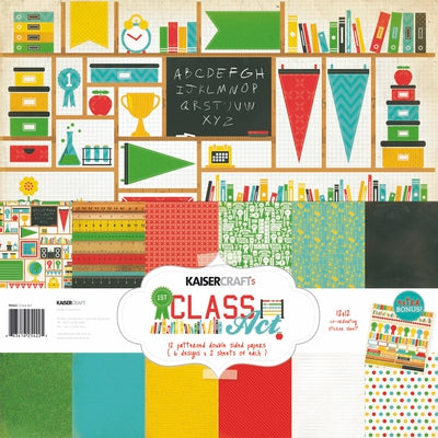 Class Act Paper Pack with BONUS Sticker Sheet