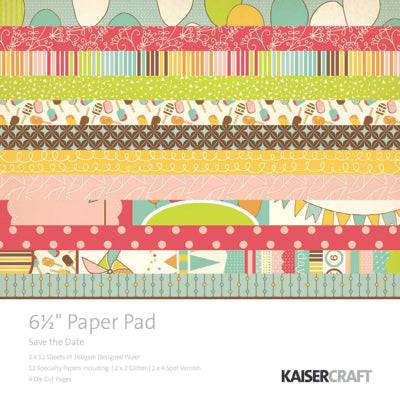 Save the Date Paper Pad