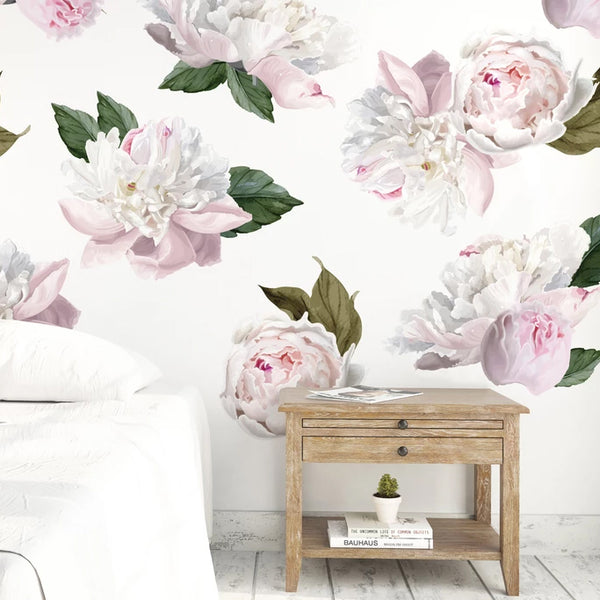 Easy Wall Sticker - Mini Peonies (accept pre-order)