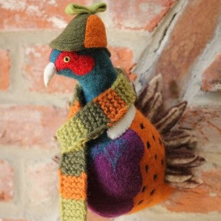 Wall Decoration - Pheasant Head (accept pre-order)