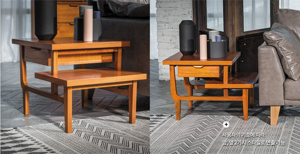 RETRO VINTAGE Step Side Table 02 (accept pre-order)