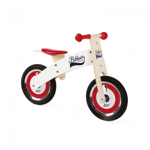 Janod Bikloon Red/ White Balance Bike