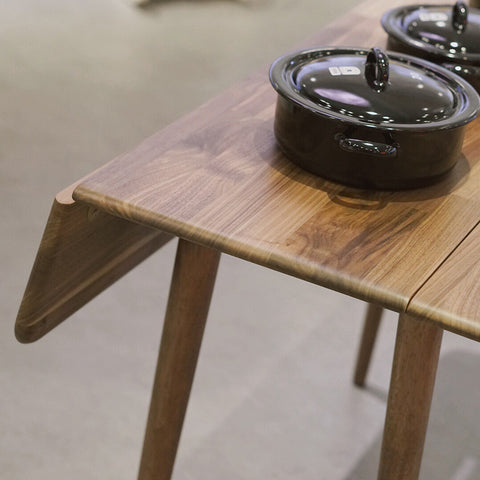 Retro Folding Table Walnut