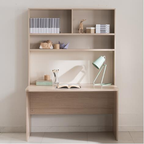 Ronan Normal Desk with Upper Shelf (accept pre-order)
