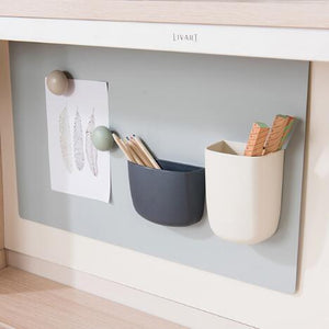 Ronan Adjustable Desk with Upper Shelf (accept pre-order)