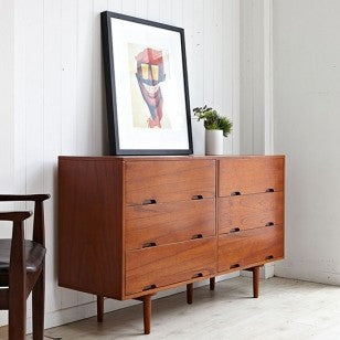 SKAGEN 6 Wide Drawers Cabinet