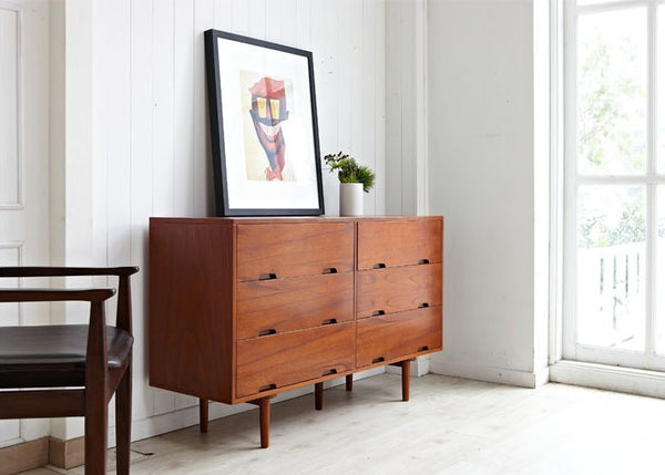 SKAGEN 6 Wide Drawers Cabinet (accept pre-order)