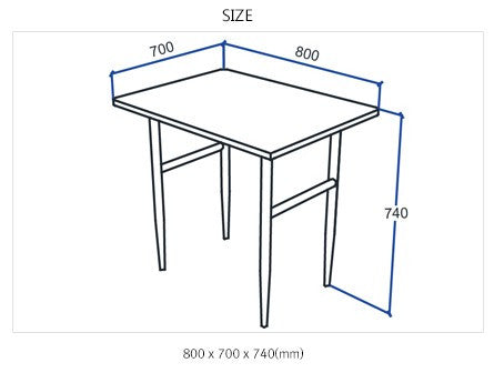 SKAGEN Dining Set with 2 Chairs S (accept pre-order)