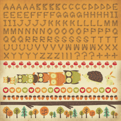Tiny Woods Sticker Sheet