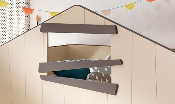 SWEET CREAM Storage Bunk Bed 2 (accept pre-order)