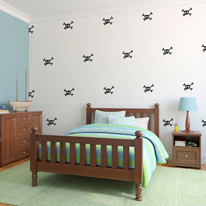 Easy Wall Sticker - Skull/ Crossbones (accept pre-order)