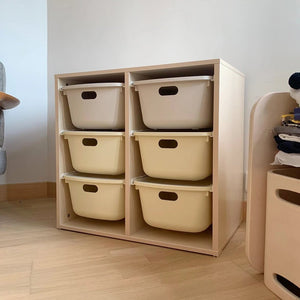 Sweet Cream 2x3 Storage (accept pre-order)