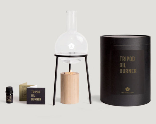 Tripod Oil Burner