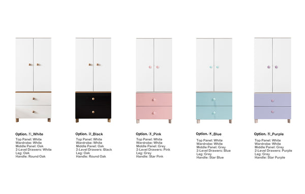 New Comme Tall Wardrobe (accept pre-order)
