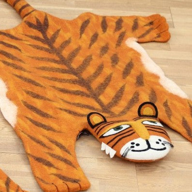 Raj the Tiger Rug (accept pre-order)