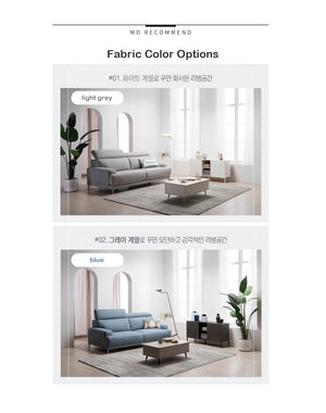 Vallen Sofa Fabric 3-seater (accept pre-order)