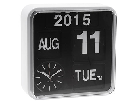 Wall Clock Mini Flip