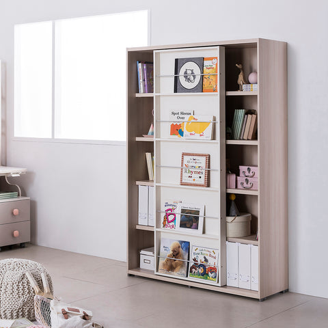 New Rudi Sliding Tall Bookshelf (accept pre-order)